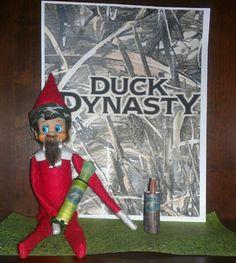 Duck Dynasty Elf on the shelf! My boys favorite so far!!!