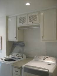Laundry Room Design Picture With 60 Inch Wall Cabinet And