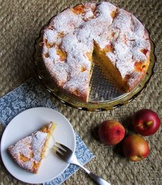 Nectarine Dessert, Nectarine Recipes, Dessert Cake Recipes, Dessert Bread, No Bake Desserts, Sweet Desserts, Buttermilk Bread, Christmas Cheesecake, Gourmet