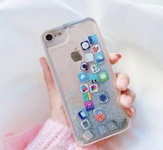 App Glitter Quicksand iPhone Case Mermaid Case - Iphone 7 Plus Glitter Case - Ideas of Iphone 7 Plus Glitter Case - - App Glitter Quicksand iPhone Case Mermaid Case Funda Iphone 6s, Coque Iphone 5c, Capas Iphone 6, Diy Iphone Case, Iphone Hacks, Iphone 7 Plus, Cute Phone Cases, Iphone Phone Cases, Cool Iphone Cases