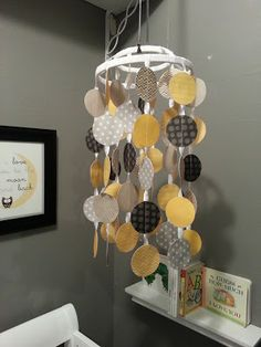 First comes Love, Second comes Marriage: DIY Project: Baby Crib Paper Mobile.