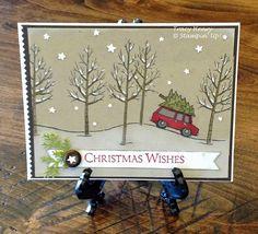 3 Boy Mom Stamps: Christmas Tree Hunting