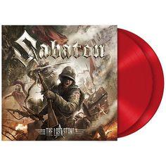 """L'album dei #Sabaton intitolato """"The Last Stand"""" su doppio vinile rosso. Edizione limitata."""