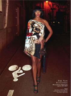 #NaomiCampbell by #KarlLagerfeld for #HarpersBazaarUK March 2014