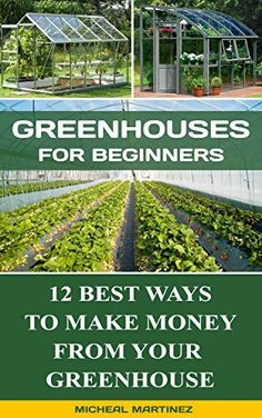 Greenhouses for Beginners: 12 Best Ways To Make Money From Your  Greenhouse: (Mini Farming Self-Sufficiency On 1/ 4 acre, Greenhouse, gardening for beginners) ... How to build a chicken coop, Greenhouse)), http://www.amazon.com/dp/B0168E6ESI/ref=cm_sw_r_pi_awdm_t1Wkwb0VGFNMC
