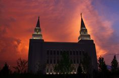 KC Temple at Sunset, taken by Valerie Anderson