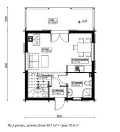 Cabin Floor Plans, Apartment Layout, Small House Plans, Tiny House, New Homes, Cottage, Flooring, How To Plan, Architecture