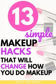 I love simple makeup hacks. For me, a natural and easy makeup routine is much more manageable for my lifestyle. If you're in a similar boat, I think you'll love these easy makeup hacks, too! With everything from makeup hacks for foundation to makeup hacks for eyes, there's a makeup hack here for everyone. Trust me, try out some of these makeup tips and tricks, and they'll completely change how you do your makeup