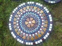 Special order mosaic stepping stone