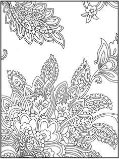 Paisley Designs Coloring Book - Bing Imagens