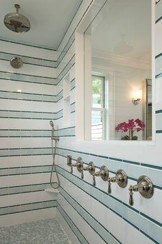 large walk-in shower | Gordon James Construction | Grace Hill Design