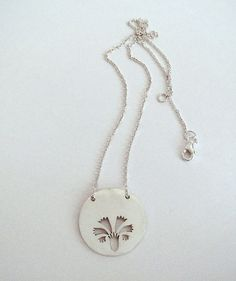 Carnation necklace on Etsy, $226.78 CAD