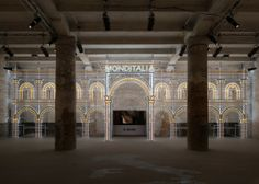Luminaire Light Installation by Rem Koolhaas