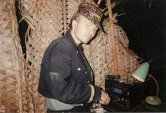India, Goa, Bardez, Vagator Discovalley consolle season 1988/89 my first party in Goa as DJ...with cassettes