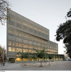 Social Security Administration Building In Barcelona by BCQ Arquitectura