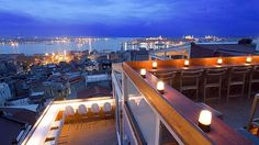High life ... the view from Leb-i Derya, Istanbul.