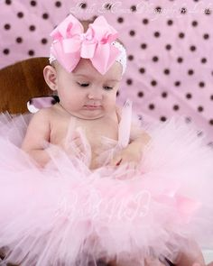 Pretty In Pink Princess Tutu Set  Light by RufflesRibbonsNBows, $28.00