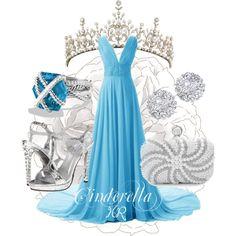 """""""Cinderella"""" by heyheraaa on Polyvore"""
