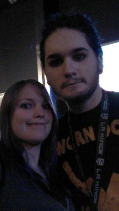 Selfie with ghost apollo tour 2015
