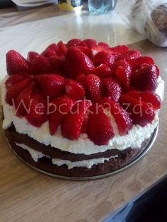 Update gyümölcstorta Fondant, Cheesecake, Cukor, Foods, Food Food, Food Items, Cheesecakes, Gum Paste, Cherry Cheesecake Shooters
