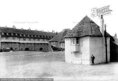 West Bay, Coastguard Station 1907, from Francis Frith