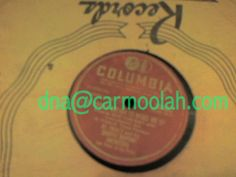 """al trace and his #shuffle rhythm #orchestra """"It Took A Dream To Wake Me Up"""" """"Your Tears Came Too Late"""" bob vincent lee pines at the piano columbia 38465 vinyl records music for sale NM Near Mint 78 rpm record"""