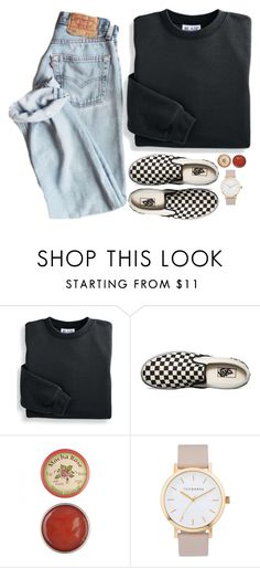 """cash"" by sloanibanez ❤ liked on Polyvore featuring Blair, Vans and The Horse"