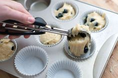 This blueberry muffins recipe can be used to make 12 standard-size muffins or 22 to 24 mini muffins! Mini Muffins, Mini Blueberry Muffins, Baking Muffins, Blue Berry Muffins, Breakfast Muffins, Blueberries Muffins, Breakfast Potatoes, Breakfast Club, Banana Bread Recipes