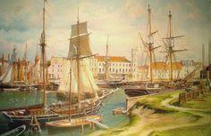 Świnoujscie- nabrzeża portu