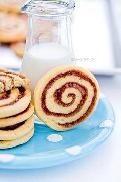 Ciastka cinnamon buns. świetne