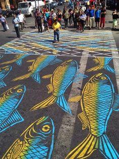 25 faixas de pedestre divertidas e muito criativas - Mega Curioso