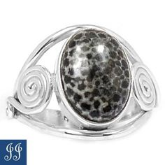 s7-5-81909-STINGRAY-CORAL-FROM-SOUTHEAST-ALASKA-925-SILVER-RING-SIZE-7-5