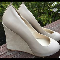 ⚡️FLASH SALE! Jeffrey Campbell wedges Great condition, wore them once! Leather with suede wedge. So pretty and comfortable too Jeffrey Campbell Shoes