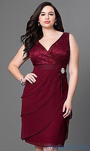 Shop Simply Dresses for homecoming party dresses 2015 prom dresses evening gowns cocktail dresses formal dresses casual and career dresses. - Plus Size Party Dresses - Ideas of Plus Size Party Dresses Plus Size Cocktail Dresses, Plus Size Party Dresses, Plus Size Dresses, Junior Party Dresses, Homecoming Dresses, Dress Party, Prom Gowns, Semi Formal Dresses, Short Dresses
