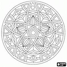 Classic circular mandala