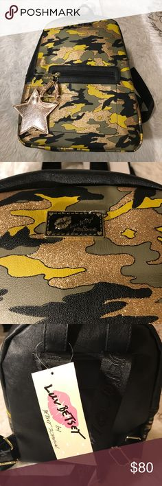 BETSEY JOHNSON Camouflage Mini Bag New Betsey Johnson Bags Mini Bags