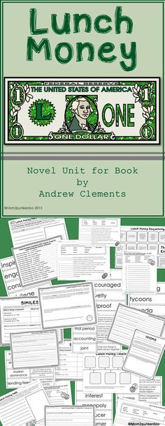 lunch money by andrew clements book report Explore reo lund's board lunch money by andrew clements on pinterest | see more ideas about andrew clements, babys and childhood.