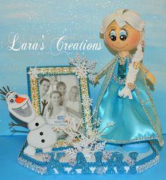 Fofucha Dolls Fofucha Frozen Elsa por LarasCreationsShop en Etsy
