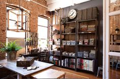 Industrial Office Design at FOUND - REstyleSOURCE
