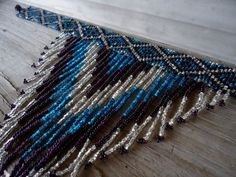 collar necklace Beaded Collar, Beaded Choker, Beaded Earrings, Beaded Necklaces, Seed Bead Patterns, Jewelry Patterns, Beading Patterns, Jewelry Ideas, Seed Bead Bracelets