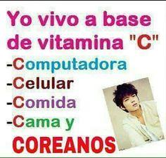 jajajaja sii mucha vitamina C ;) XD
