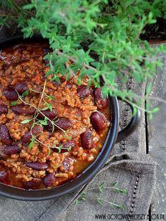 Gotuję, bo lubię - teksańskie chili con carne
