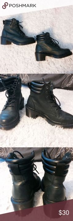 Dr. Marten Platform Boots Dr. Marten Persephone platform boots size 6 and bought from another user on Poshmark, but still in great condition! Getting rid of them because they are just not my style anymore. Dr. Martens Shoes Ankle Boots & Booties