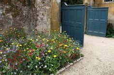 Cotswolds - Inglaterra cidade de Chipping Camden, jardim Hidcote Manor Garden