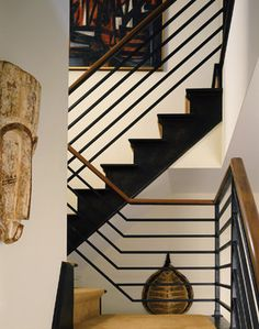 Stair - contemporary - Staircase - New York - Paul Rice Architecture