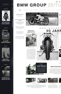 A short concept for the BMW Group Magazine.
