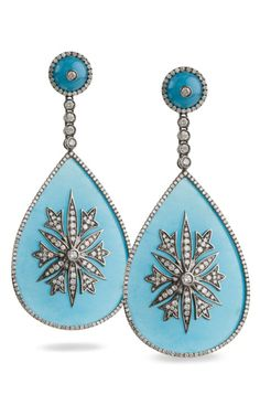 Drop dead gorgeous earrings by Bochic, new design available in Spring 2012.