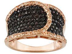 149013e5e Bella Luce (R) 1.90ctw Round Mocha & Champagne Diamond Simulant Eterno(