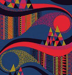 Taivasalla organic fabric, Sanna Annukka | Marimekko