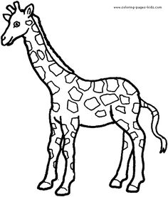 Zoo Animal Coloring Pages Elegant Giraffe Preschool Coloring Pages Zoo Animals Zoo Animal Coloring Pages, Preschool Coloring Pages, Coloring Pages For Girls, Printable Coloring Pages, Colouring Pages, Coloring Sheets, Coloring Books, Free Coloring, Giraffe Colors
